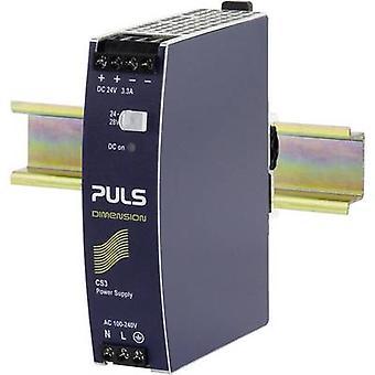 PULS DIMENSION CS3.241 Rail mounted PSU (DIN) 24 Vdc 3.3 A 80 W 1 x