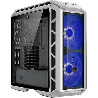 Cooler master mastercase h500p case midi-tower 2 front fans 200mm installed transparent window white color