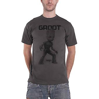 Guardians Of The Galaxy T Shirt I am Groot Mono new Official Marvel Comics Mens