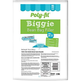 Poly-Fil Biggie Bean Bag Filler-16oz FOB: MI PFBBL