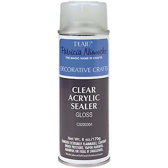 Clear Acrylic Gloss Sealer Aerosol Spray 6 Ounces Cs200304