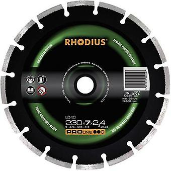 Rhodius 394136 Diamond cut-off wheel, segmented