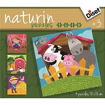 Diset Naturin Farm (Kids , Toys , Table Games , Puzzles)