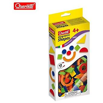 Quercetti Magn. Shapes - 49 Pieces (Toys , Educative And Creative , Electronics)