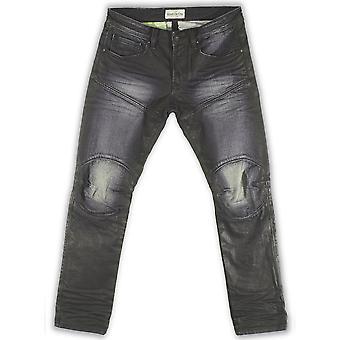 Rivet De Cru Eclipse Moto Tapered Jeans