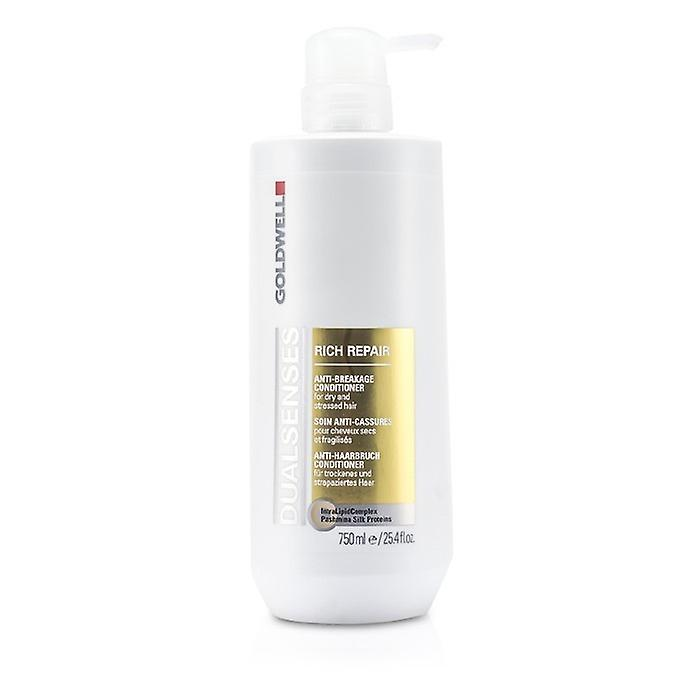 Goldwell dobbelt sanser rik reparere Conditioner (For tørt, skadet eller stresset hår) 750ml / 25oz