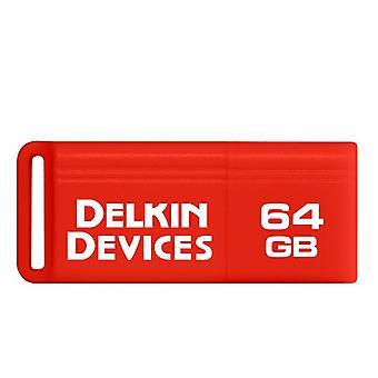 Delkin 128GB PocketFlash USB 3.0 Opblussen Drive. En hurtig & kompakt USB-Stick.