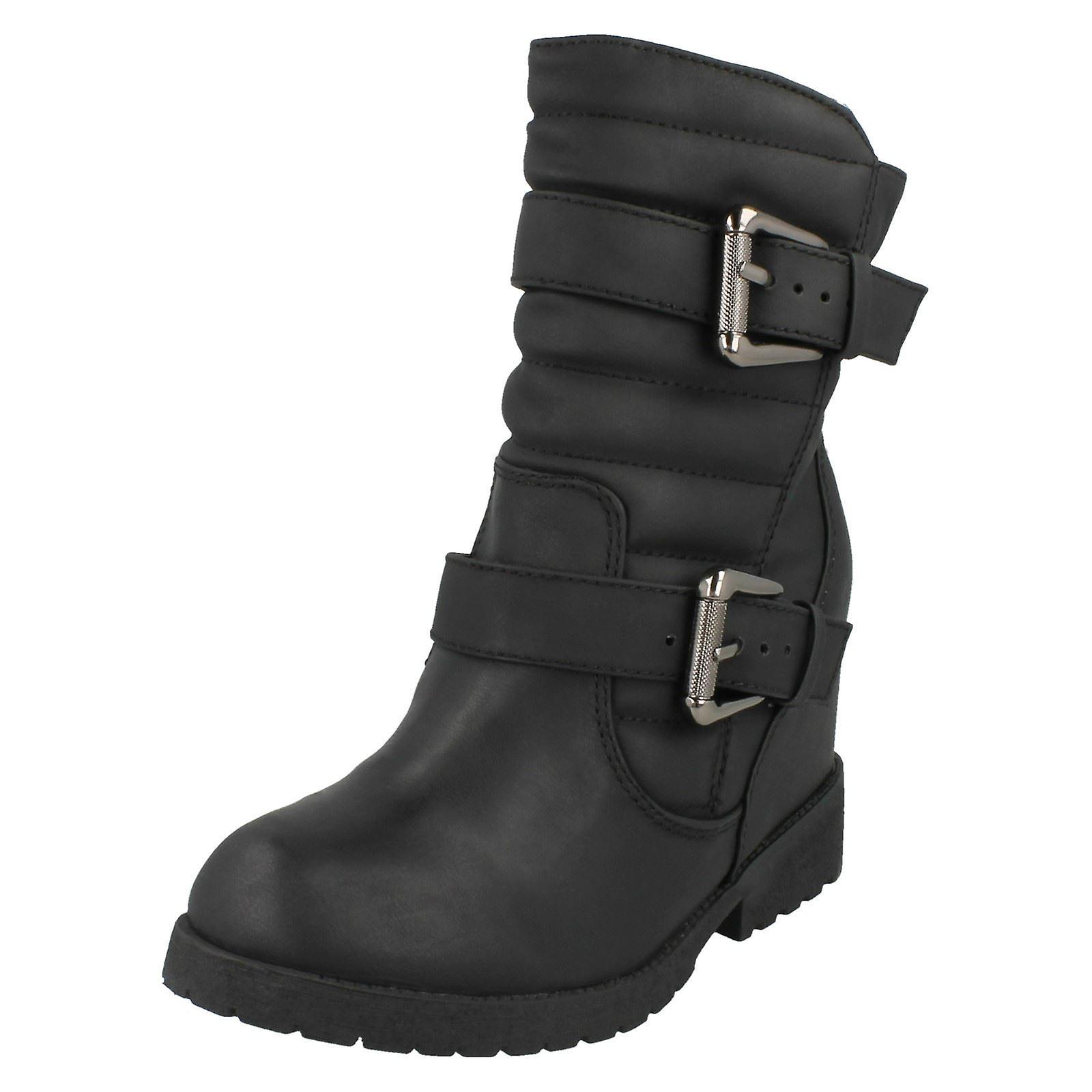 A buon mercato Ladies Spot On Boots F50333 alta qualità