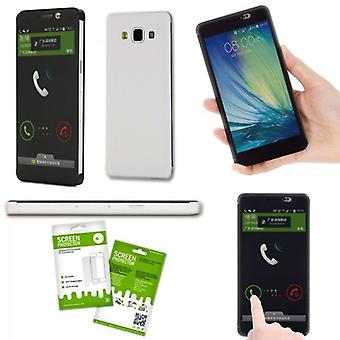 Oprindelige ROCK smart cover hvid for Samsung Galaxy A5 A500 A500F