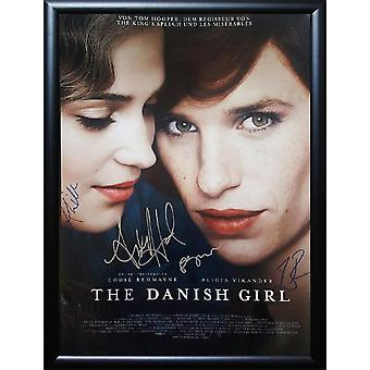 The Danish Girl -  Signed Movie Poster