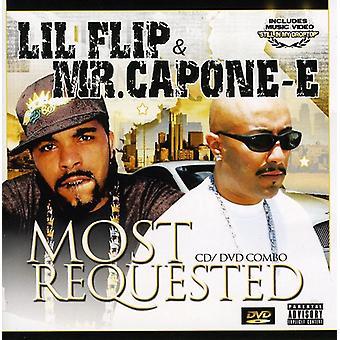 Mr. Capone-E & Lil Flip - mest efterspurgte [CD] USA import