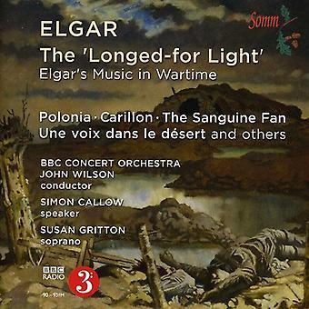 E. Elgar - Longed-for lys: Elgars musik i krigstid [CD] USA import