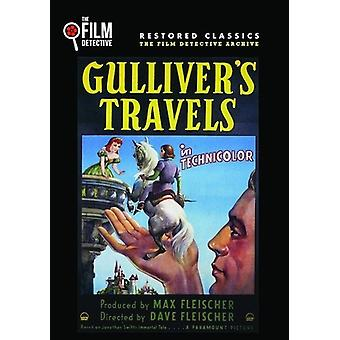 Gulliver's Travels [DVD] USA importerer