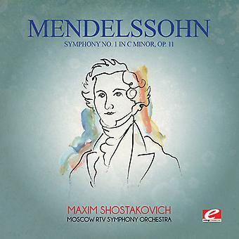 Felix Mendelssohn - Mendelssohn: Symphony No 1 in C Minor Op 11 [CD] USA import