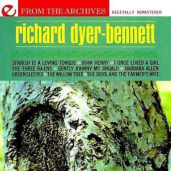 Richard Dyer-Bennett - Greensleeves-von the Archives [CD] USA Import