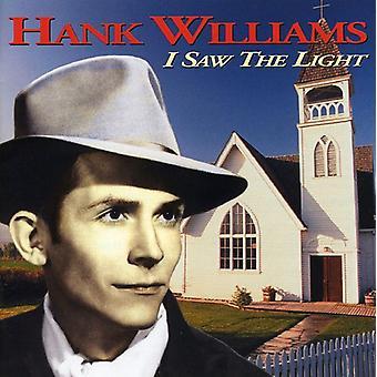 Hank Williams Sr. - jeg så lys [CD] USA importen