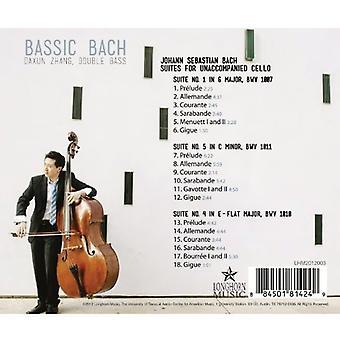 J.S. Bach - Bassic Bach [CD] USA import