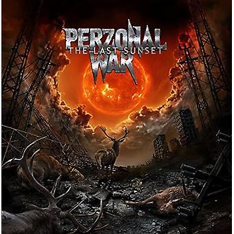 Perzonal War - The Last Sunset [CD] USA import