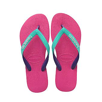 Women's Top Mix Flip Flops - Raspberry Rose