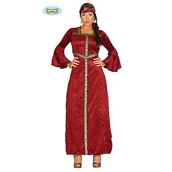 Princessa costume Princess costume of medieval ladies one size