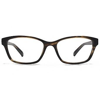 Carvela Small Rectangle Glasses In Tortoiseshell