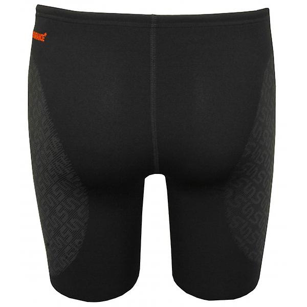 Speedo Endurance Plus Rapid Motion Jammer, Orange Panel