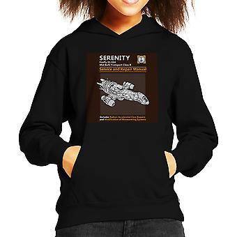 Serenity Service og reparation manuel Firefly Kid er hætte Sweatshirt