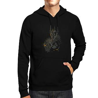The Dark Lord Sauron The One Ring Lord Of The Rings Men's Hooded Sweatshirt