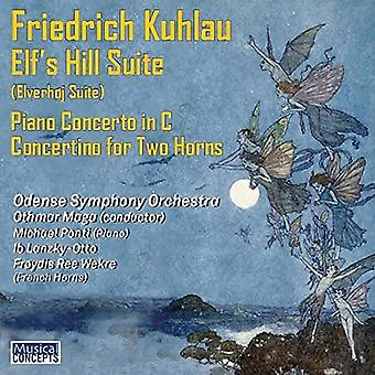 Odense Symphony Orchestra, Othmar Maga, -Kuhlau: Elfen Hill Suite Piano Concert [CD] USA import