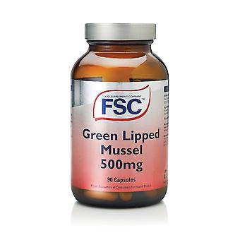 FSC, Green Lipped Mussel 500mg, 90 capsules