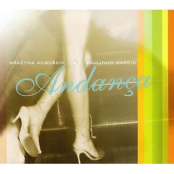 Grazyna Auguscik & Paulinho Garcia - Andana [CD] USA import