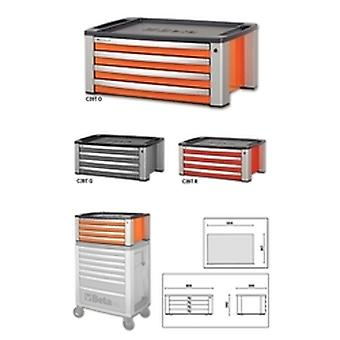 Beta C39 T-O Portable Tool Chest With Four Drawers