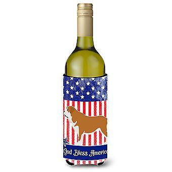 Mastín Epanol Mastin Espanol americano botella de vino Beverge aislador Hugger