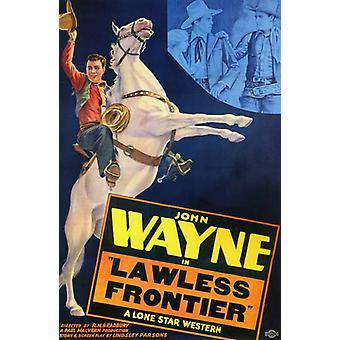 The Lawless Frontier Movie Poster (11 x 17)