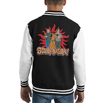 Supernatural Scooby Doo Scoobynatural Pun Kid's Varsity Jacket