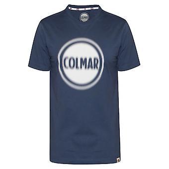 Colmar Colmar Blue Logo T-Shirt