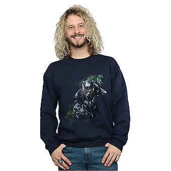 Marvel Men's Black Panther Wild Silhouette Sweatshirt