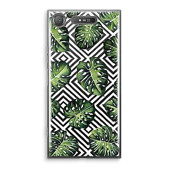 Sony Xperia XZ1 Transparant Case - Geometric jungle
