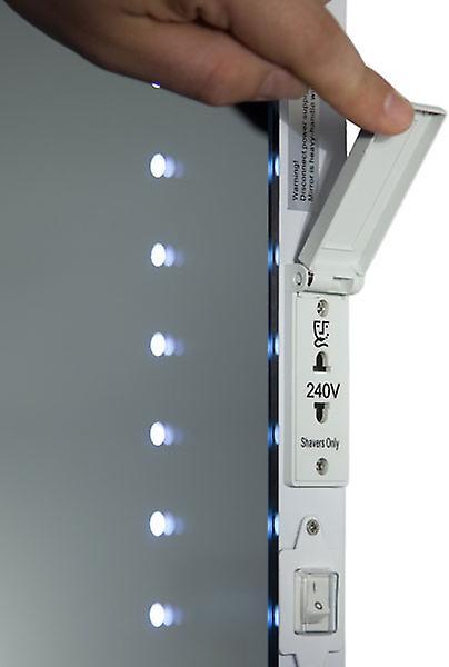 Empire Shaver LED Bathroom Mirror With Demister Pad & Sensor k67s