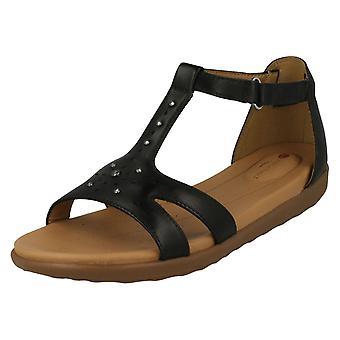 Damer Clarks Strappy Sandal FN Reisel Mara