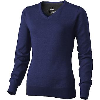Elevate Womens/Ladies Spruce V-Neck Jumper