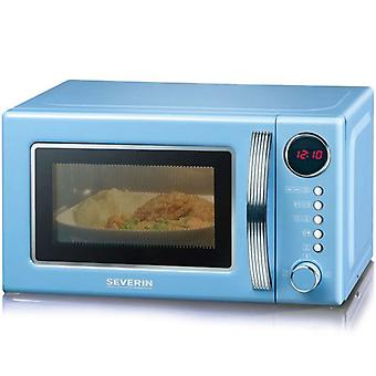 Severin Microwave Retro Grill Blue