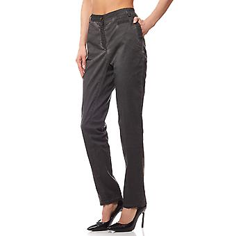 Chinohose pants women grey travel Couture by heine