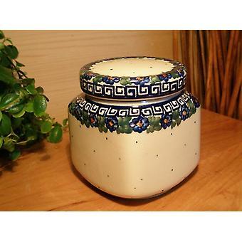 Box, volume approx. 450 ml, unique 52 Bunzlauer porcelain - BSN 0113