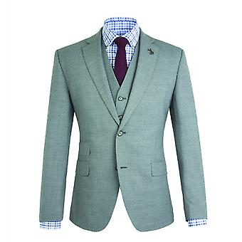 Gibson Londres Gibson London gris Semi plaine Slim Fit Jacket