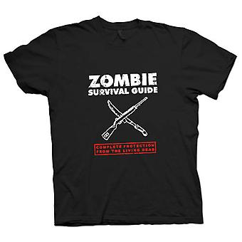 Womens T-shirt - Zombie Survival Living Dead - Funny