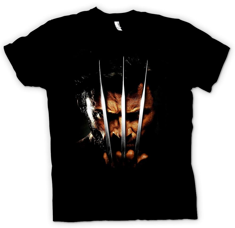 Womens T-shirt - Wolverine - X Men - Claw