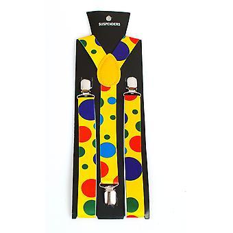 Riemen en bretels bretels van de Clown