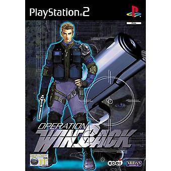 Opération Winback (PS2) - Usine scellée