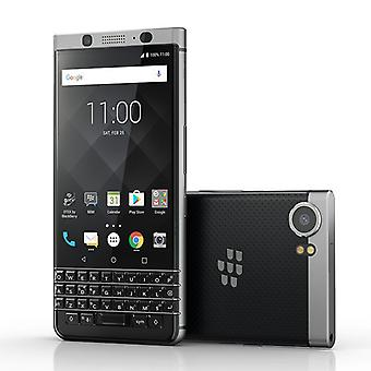 BlackBerry KEYone Phone - Android 7.0, Qwerty Keyboard, 4GB RAM, Security Featuers, 4G, 3505mAh Battery (Silver)